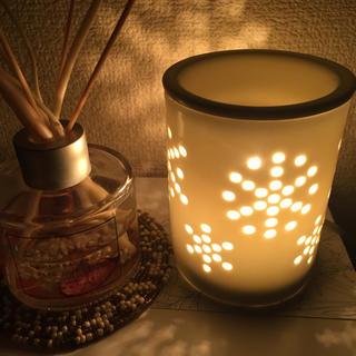 アロマポット 電気 白 陶器 無印良品