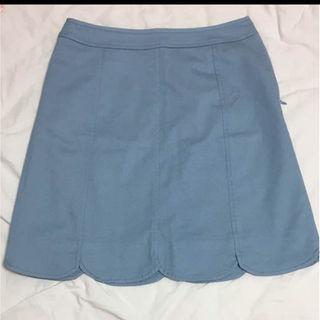オフオン(OFUON)のOFUON BASIC 膝上スカート(ひざ丈スカート)
