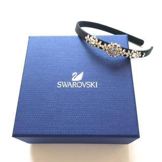 スワロフスキー(SWAROVSKI)の【新品未使用】Swarovski カチューシャ スワロフスキー(カチューシャ)