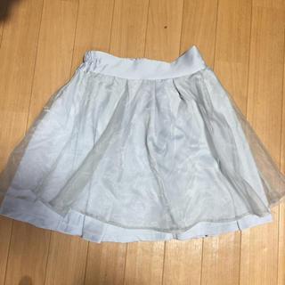 ワンアフターアナザーナイスクラップ(one after another NICE CLAUP)のオーガンジースカート(ミニスカート)