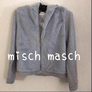 ミッシュマッシュ(MISCH MASCH)のミルク様専用♡ misch masch パーカー☆リボン チュニックワンピ(パーカー)