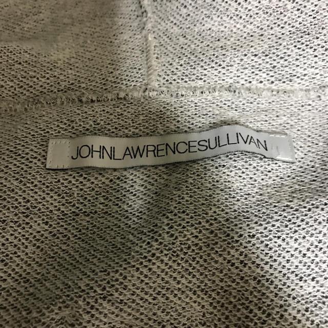 JOHN LAWRENCE SULLIVAN(ジョンローレンスサリバン)の【美品】ジョンローレンスサリバン パーカー シルバー メンズのトップス(パーカー)の商品写真