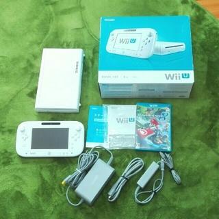 ウィーユー(Wii U)のKUMAmama 様専用⭐Wii U 本体8GB+マリオカート8 (家庭用ゲーム機本体)