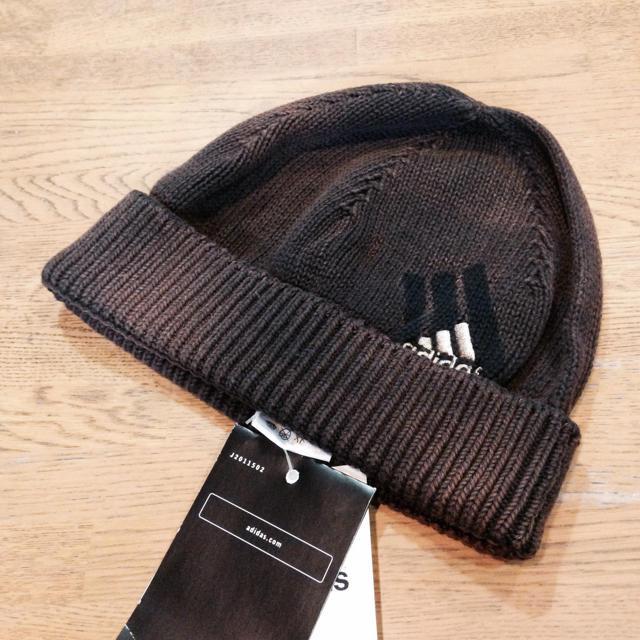 adidas(アディダス)の新品 アディダス ニット帽 レディースの帽子(ニット帽/ビーニー)の商品写真