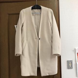 セレクト(SELECT)のセレクトショップMOCA オフホワイトコート(ロングコート)