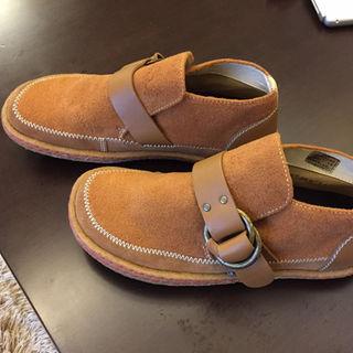 インディアン(Indian)のインディアン スエード モンクストラップ メンズカジュアルシューズ(25cm)(ブーツ)