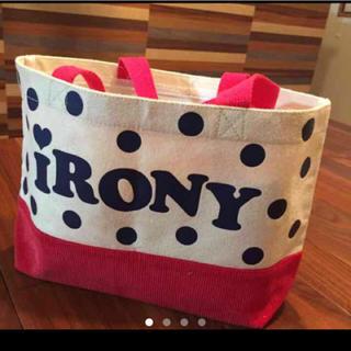 アイロニー(IRONY)のiRONY☆ミニトートバック(トートバッグ)