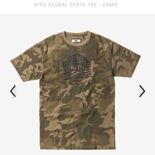 シュプリーム(Supreme)のKITH  キース GLOBAL STATE TEE 迷彩 カモ camo(Tシャツ/カットソー(半袖/袖なし))