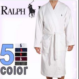 ラルフローレン(Ralph Lauren)の半額以下!ラルフローレン バスローブ Lサイズ ホワイト(その他)