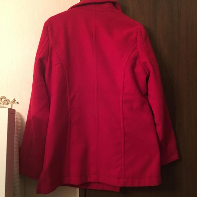 INGNI(イング)のINGNI 赤 コート 美品 レディースのジャケット/アウター(ピーコート)の商品写真
