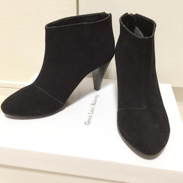UNITED ARROWS(ユナイテッドアローズ)の最終値下げSALE!【送料込】ユナイテッドアローズ◆ブーティー 黒 レディースの靴/シューズ(ブーツ)の商品写真