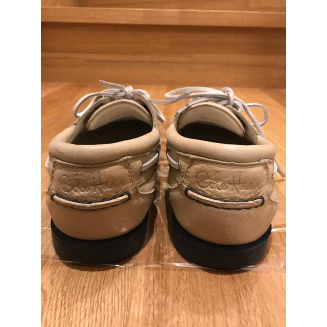 Cole Haan(コールハーン)の定価3万5千円超 コールハーン レザー デッキシューズ  ローファー モカシン メンズの靴/シューズ(デッキシューズ)の商品写真