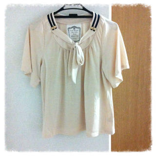 ミスティウーマン(mysty woman)のセーラーTシャツ(Tシャツ(半袖/袖なし))