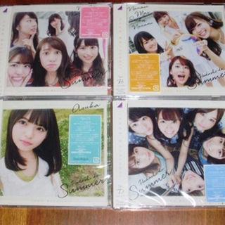 乃木坂46  裸足でSummer 初回限定盤 CD+DVD ABCD 4種(その他)
