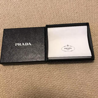プラダ(PRADA)のプラダ PRADA 箱 のみ 二つ折り財布 レディース(財布)