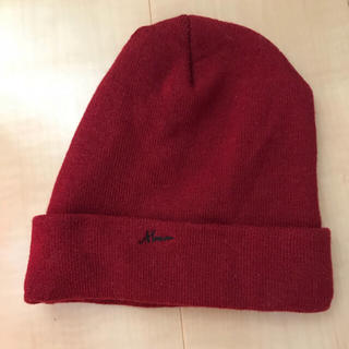 ムルーア(MURUA)のMURUA ニット帽(ニット帽/ビーニー)