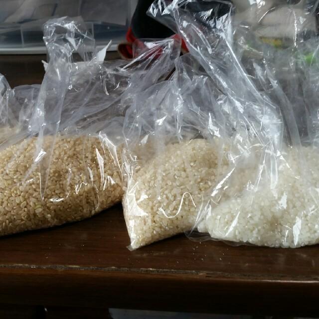 高村農園こうちゃん米 食べ比べセット 食品/飲料/酒の食品(米/穀物)の商品写真