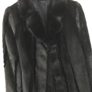 ブラウン毛皮のコート確認画面です!(毛皮/ファーコート)