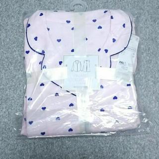 ジーユー(GU)のGU 新品 未開封 大きいサイズ 3L ハート パジャマ XXL ピンク(パジャマ)