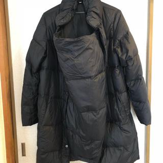 ムジルシリョウヒン(MUJI (無印良品))の無印良品 ママコート 黒 M(マタニティアウター)
