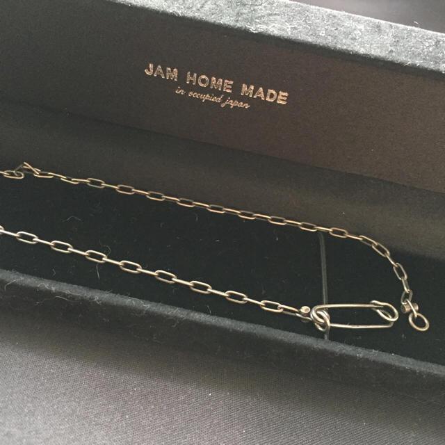 JAM HOME MADE & ready made(ジャムホームメイドアンドレディメイド)の【!値下げ!】JAM HOME MADE♡安全ピンネックレス レディースのアクセサリー(ネックレス)の商品写真