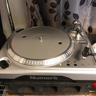 パイオニア(Pioneer)のNUMARK レコードプレーヤー ターンテーブル TT1650 動作確認済み(ターンテーブル)