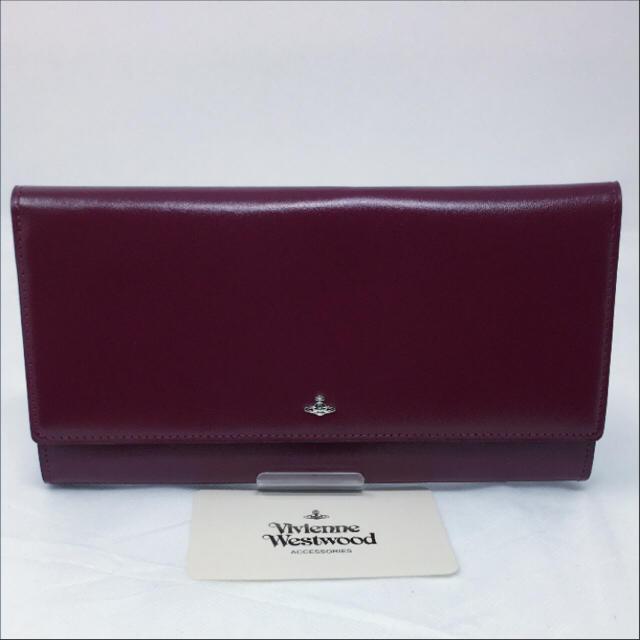 Vivienne Westwood(ヴィヴィアンウエストウッド)のVivienne Westwood 長財布 ヴィヴィアン パープル タイニー レディースのファッション小物(財布)の商品写真