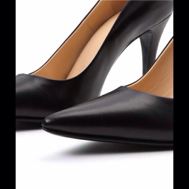 CLANEクラネ パンプス 36 ブラック 黒 レディースの靴/シューズ(ハイヒール/パンプス)の商品写真