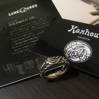 ロンワンズ(LONE ONES)のレナードカムホート ラブバイトリング ロンワンズ(リング(指輪))