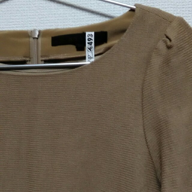 ANAYI(アナイ)のANAYI ベージュセットアップ レディースのワンピース(ひざ丈ワンピース)の商品写真