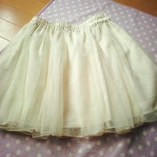 ローリーズファーム(LOWRYS FARM)のチュールスカート☆(ミニスカート)