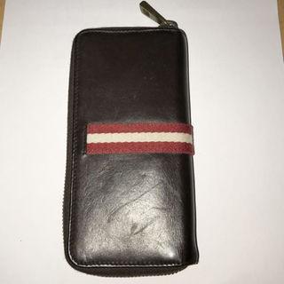 バリー(Bally)のBALLY ラウンドファスナー カードケース(折り財布)