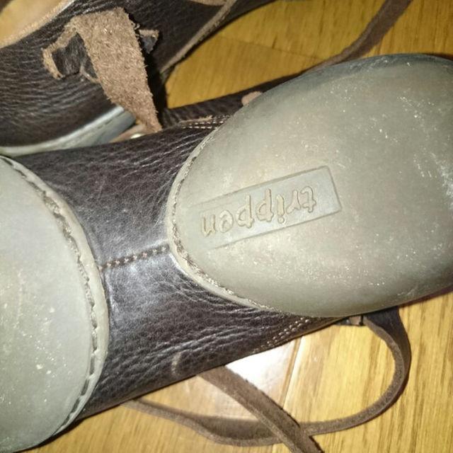 trippen(トリッペン)のtrippen 編み上げフラットシューズ レディースの靴/シューズ(その他)の商品写真