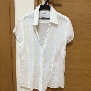 ギャップ(GAP)のギャップ♡Lサイズ  リネンシャツ(シャツ/ブラウス(半袖/袖なし))