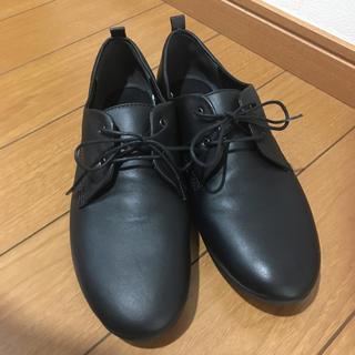 ムジルシリョウヒン(MUJI (無印良品))の無印良品レザーレースアップシューズ未使用(ローファー/革靴)