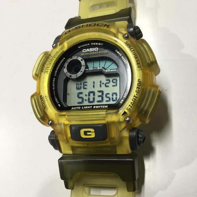 G-SHOCK(ジーショック)のG-SHOCK エクストリーム イエロー DW-9000 メンズの時計(腕時計(デジタル))の商品写真