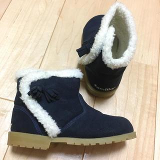 ファミリア(familiar)のファミリア ブーツ ネイビー 15(ブーツ)