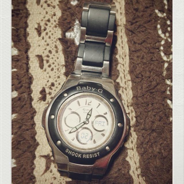 Baby-G(ベビージー)のBABY.G⌚ブラック値下げ❤ レディースのファッション小物(腕時計)の商品写真