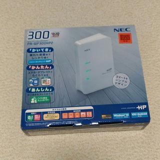 エヌイーシー(NEC)の【新品】無線LANルータ  NEC PA-WF300HP2(その他)