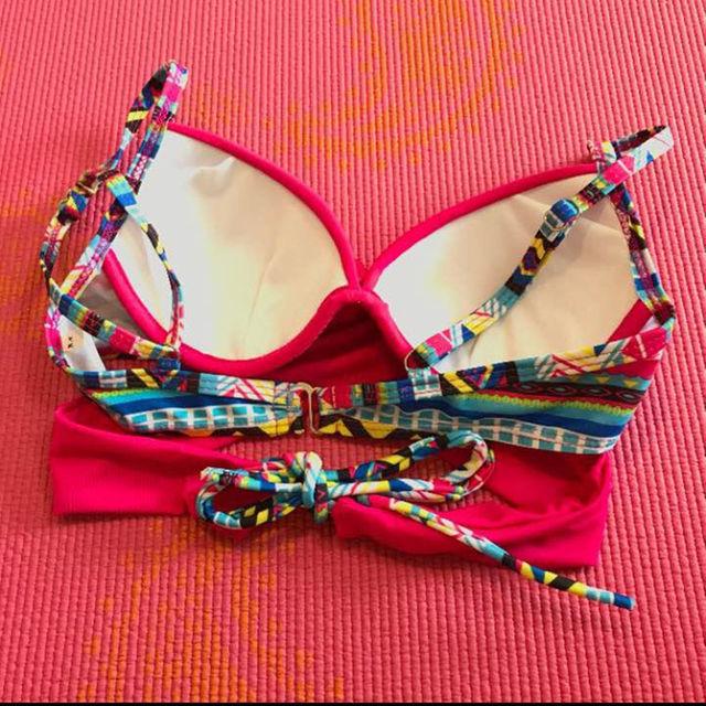 新品 未使用 パッションピンク セパレート水着 レディースの水着/浴衣(水着)の商品写真