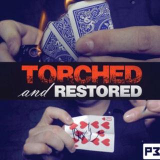 破いて燃やしたサインカードの完全な復活‼️Torched‼️手品(トランプ/UNO)