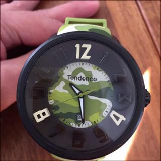 テンデンス(Tendence)のTENDENCEグリーン迷彩(腕時計(アナログ))