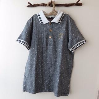 マークアンドロナ(MARK&LONA)のMARK&LONA マークアンドロナ ポロシャツ 総柄GOLF(ウエア)