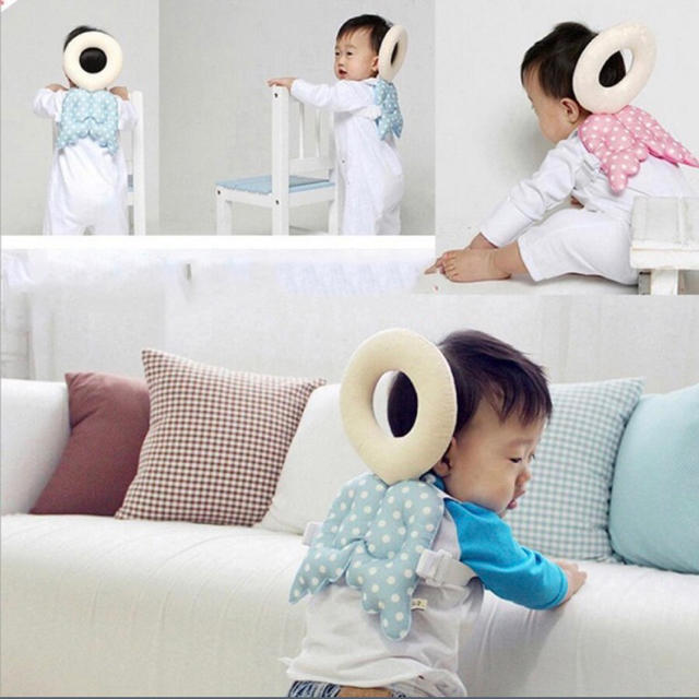 防止 クッション 転倒 よちよち歩きの赤ちゃんの頭を守ってくれる!リュック型転倒防止クッションがあれば安心!
