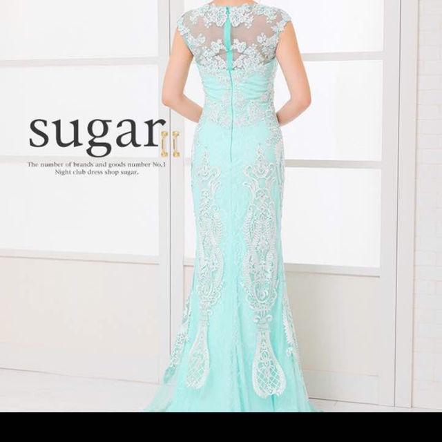 Sugar Cane(シュガーケーン)のSugar マーメイドシースルー刺繍ロングドレスキャバ レディースのフォーマル/ドレス(その他ドレス)の商品写真
