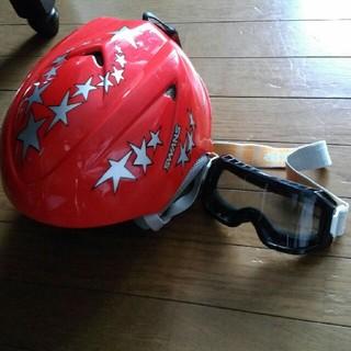 スワンズ(SWANS)のスワンズ ヘルメット ゴーグル 140インナー グローブセット(ウエア/装備)