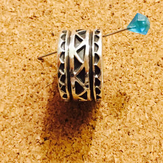 ビームス(BEAMS)のオービルホワイト ナバホ族 インディアンジュエリー(リング(指輪))