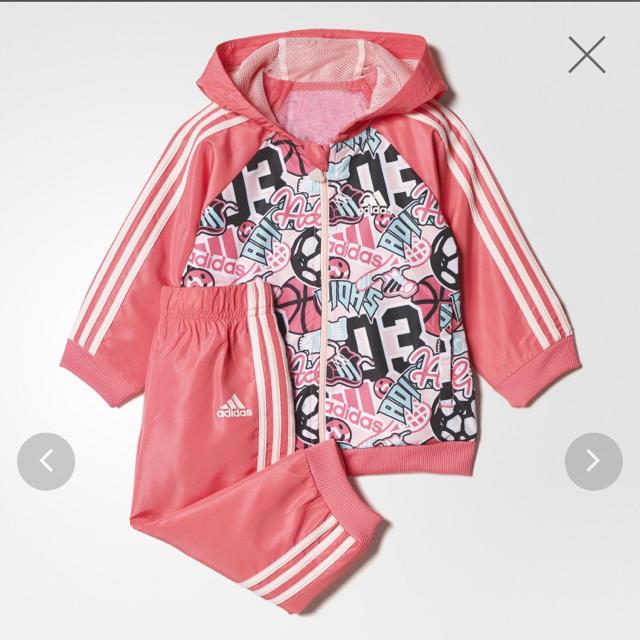 adidas(アディダス)のナツキ様専用 キッズ/ベビー/マタニティのキッズ服 女の子用(90cm~)(ジャケット/上着)の商品写真