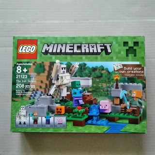 レゴ(Lego)の新品 レゴ マインクラフト21123 The Iron Golem(知育玩具)