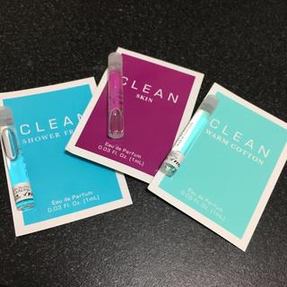 クリーン(CLEAN)のCLEAN サンプルセット 1ml×3本(ユニセックス)